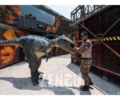 Velociraptor Dinosaur Costume