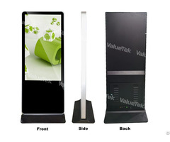 Android 43 Inch Floor Standing Signage Display Totem Indoor Advertising From Valuetek