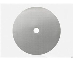 Stainless Steel Mesh Filter Disc