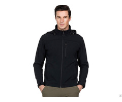 Mier Men S Hooded Softshell Jacket