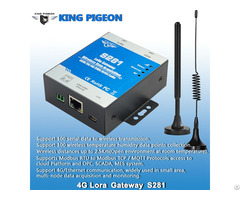 King Pigeon Cellular Lora Gateway S281 Gprs 3g 4g Ethernet