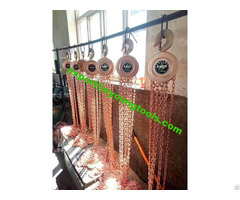 Non Sparking Chain Hoist Block Ouyang