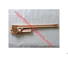 Non Sparking Pipe Wrench American Type Ouyang