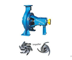 Ks Open Impeller Centrifugal Pulp Pump