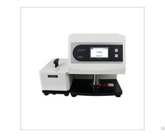 Mechanical Contact Auto Thickness Testing Machine For Plastic Film Medical Protective Clothing