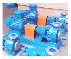 Ihk Bw Stainless Steel Chemical Centrifugal Pump With Heat Jacket