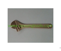 Non Sparking Adjustable Wrench 300mm Ouyang Tools