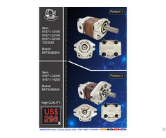 Cosmic Forklift Parts New No 376 Hydraulic Pump Cpw