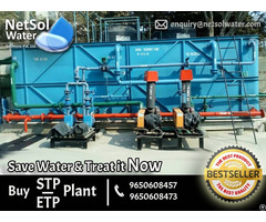 Best Effluent Treatment Plant Supplier Netsol Water Solutions Wastewater Company