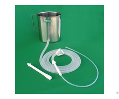 Enema Kit With Silicone Tubings Stainless