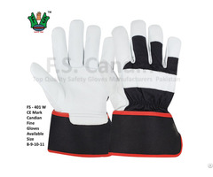 Ce Approved Canadian Rigger Fine Gloves
