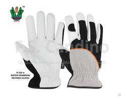 Ce Mark Leather Mechanics Gloves