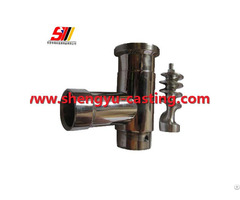 China Oem Customized Stainless Steel Meat Mixer Grinder Parts
