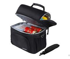 Mier Dual Compartment Cooler Bag