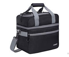 Mier Double Compartment Cooler Bag