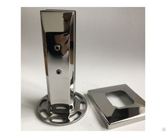 Flooring Stainless Steel Glass Spigots For Safety