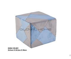 Bathroom Cloth Square Stool