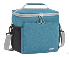 Mier Insulated Lunch Bag Men And Women