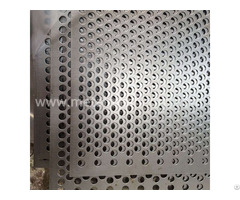 Staggered 60 Degrees Round Hole Perforated Metal