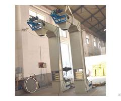 Stainless Steel Food Grade Chain Single Z Type Bucket Elevator Conveyor