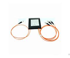 Oem 1 3 Abs Box With Fc Connectors Fiber Optic Fbt Splitter