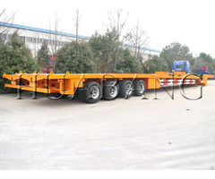 Extendable Flatbed Trailer For Windmill Blade Transport