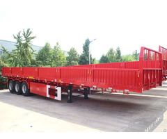 Dropside Mass Side Stake Cargo Trailer