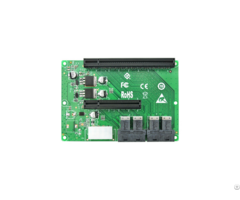 Linkreal 4 Port Sff 8643 To Pcie X8 And X16 Slot Expansion Adapter Card