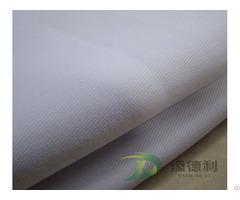 Anti Static Cotton Plain Grey Fabric