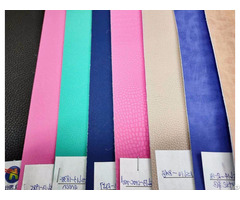 New Pattern Colorful Microfiber Faux Leather For Handbag
