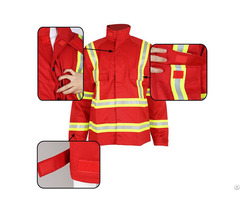Anti Fire Jacket For Men With Reflective Strip