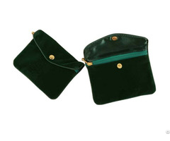 Satin Zipper Pouch