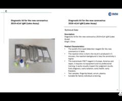 Diagnostic Kit For 2019 Ncov Igm
