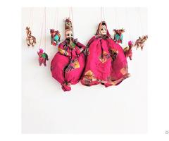 Natural Craft Gitagged Khatputli Raja Rani Lively Pink