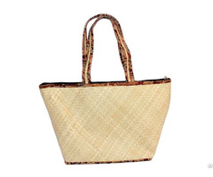 Natural Craft Gitagged Screw Pine Designer Bags