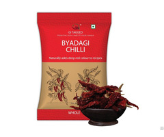 Indian Spices Gitagged Byadgi Chilli Whole 200gms