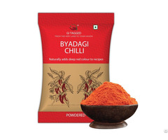 Indian Spices Gitagged Byadgi Chilli Powder 200gms