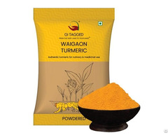 Indian Spices Gitagged Waigaon Turmeric Powder 100gms