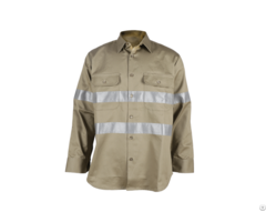 Affordable And Practical Flame Retardant Construction Work Shirt For Men