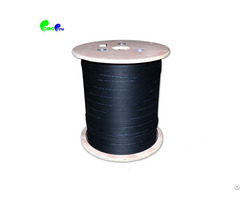 Outdoor 2 Core G657a Aerial Ftth Drop Optical Fiber Cable Lszh