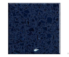 Factory Crystal Blue Quartz Stone Big Slabs