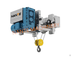 Manufacturing Overhead Crane Electric Nha Low Headroom Wire Rope Hoist