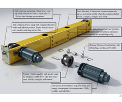 Crane Hollow Shaft End Carriage With European Design