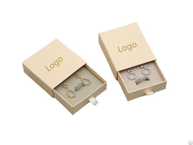 Customize Paper Jewelry Box