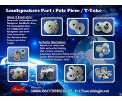 Speakers T Yoke Made In Taiwan