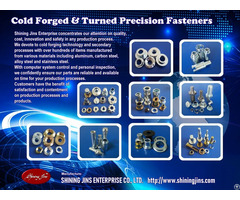 Cold Forged And Turned Parts Made In Taiwan