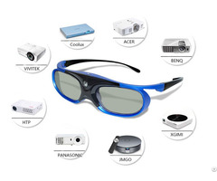 Dlp Glasses With Rechargeable Active Shutter Eyewear For 96 144hz All 3d Projectors