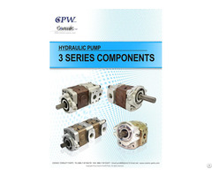 Cosmic Forklift Parts Hydraulic Pump Cpw 3 Series Catalogue Size