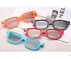 Circular Polarized 3d Glasses For Digital Theatre Reald Or Masterimage Movie Passive System
