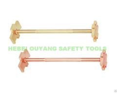 Non Sparking Bung Opener Spanner Copper Beryllium 300mm Atex Tools